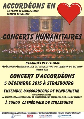 FDAA flyer accordéon en coeur 2015 Vendenheim