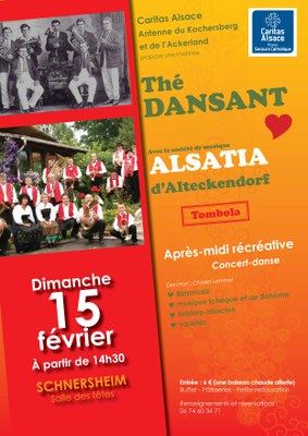Kochersberg Affiche The Dansant2015
