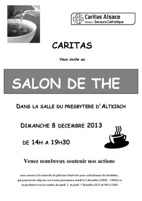 Affiche Salon de thé Altkirch