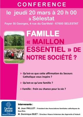 Affiche Conférence Famille 20mars2014