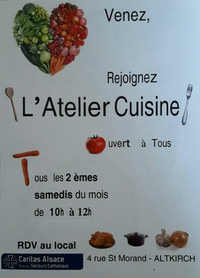 ateliers cuisine Altkirch