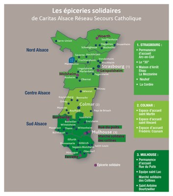 Carte epiceries solidaires 2015