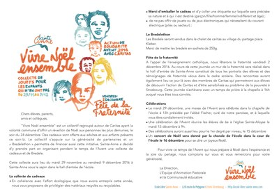 Circulaire Action Avent 2016 Page 1